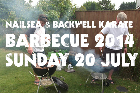 Nailsea and Backwell Karate club barbecue