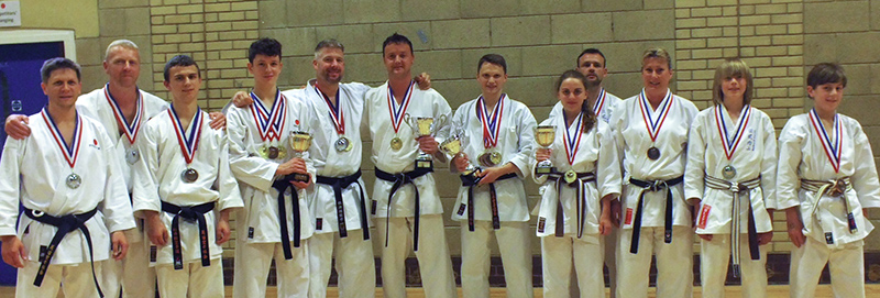Nailsea Karate medallists