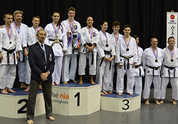 Backwell score Silver at National Karate champs