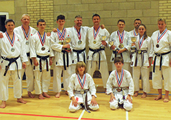 Nailsea & Backwell Karate defend Southern title